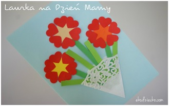 Laurka na Dzień Mamy | Dzień mamy i taty | prace plastyczne ...